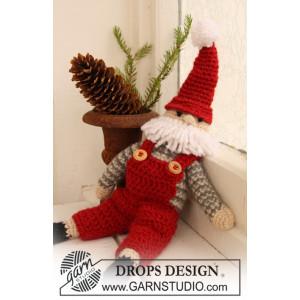 Santa Claus by DROPS Design - Crochet Santa for Christmas Pattern 35 cm