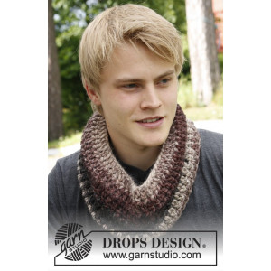 Timber by DROPS Design - Knitted Neck warmer Pattern