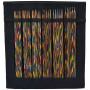 KnitPro Symfonie Double Pointed Knitting Needles Set Birch 15 cm 2-4.5 mm 6 sizes Black Case
