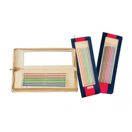 KnitPro Zing Set DPNs Double Pointed Knitting Needles Aluminium