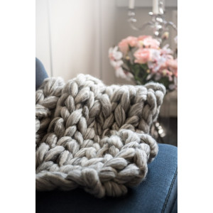 Mayflower Knitted Knee-blanket - Pattern 85x80cm