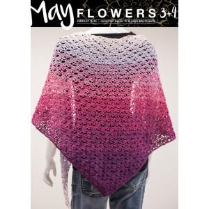 Mayflowers Crocheted Shawl - Shawl Crochet Kit