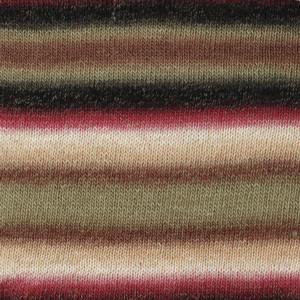 Drops Delight Yarn Print 05 Beige/Grey/Pink