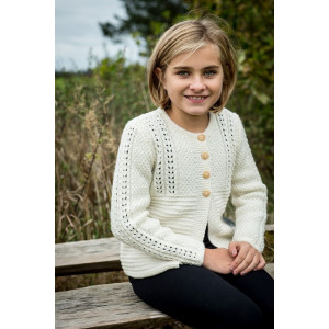 Mayflower Knitted Cardigan with Lace Pattern size 4 years - 12 years