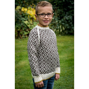Mayflower Knitted Sweater with Graphic Mosaic Pattern size 4 years - 12 years