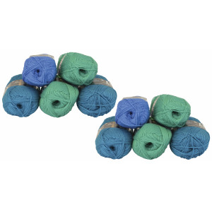 Mayflower Andes 10 Ball Colour Pack Petrol/Green - 10 pcs