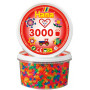 Hama Beads Midi 210-51 Neon Mix 51 Tub with 3000 pcs