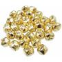 Infinity Hearts Jingle Bells 25mm Gold - 30 pcs