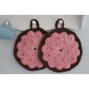 Donut Pot Holders Crochet Kit by Rito Krea