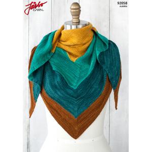 Islamorada Shawl - Shawl Pattern 152x66cm