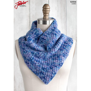 Racimo Cowl - Knitted Scarf Pattern 90x24cm