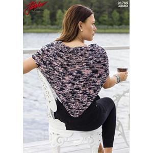 Järbo Triangle Shawl Knitting Pattern 107x50cm