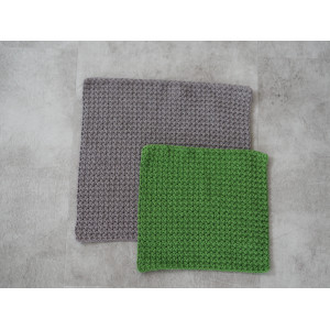 Cloth Crochet Kit 21x21cm + 28x28cm by Rito Krea