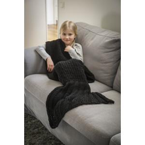 Järbo Disney Ariel The Little Mermaid Blanket Children Size Pattern 125x74 cm