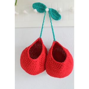 Cherry Baskets Crochet Kit By Rito Krea