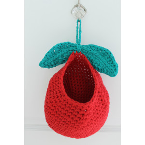 Apple Basket Crochet Kit By Rito Krea