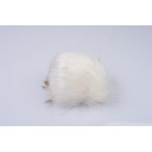 Pom Pom Acrylic White 120 mm