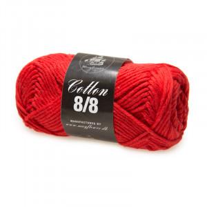 Mayflower Cotton 8/8 Big Yarn Unicolor 1916 Christmas Red