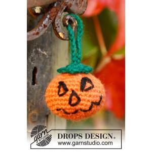 Jack by DROPS Design - Crochet Halloween Pumpkin Pattern 5cm