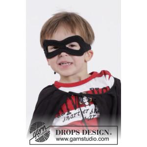 Little Zorro by DROPS Design - Crochet Superhero Mask Pattern One size