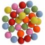 Felt Balls Wool 20mm Ass. Summer Colours - 30 pcs