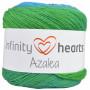 Infinity Hearts Azalea Yarn Print 10