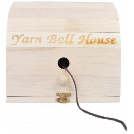 Natural Maplewood Scheepjes Yarn Ball House
