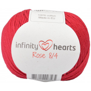 Infinity Hearts Rose 8/4 Yarn Unicolor 21 Dark Red/Bordeaux