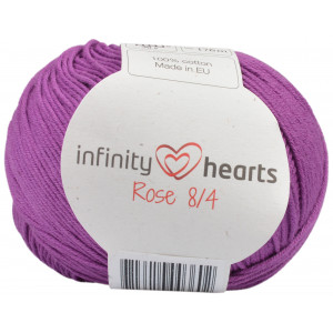 Infinity Hearts Rose 8/4 Yarn Unicolor 65 Heather