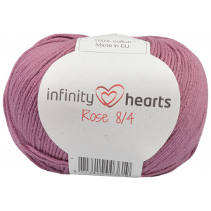 Infinity Hearts Rose 8/4 Yarn Unicolor 78 Dark Old Pink