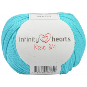 Infinity Hearts Rose 8/4 Yarn Unicolor 130 Sea Green