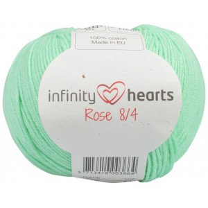 Infinity Hearts Rose 8/4 Yarn Unicolor 140 Mint Green