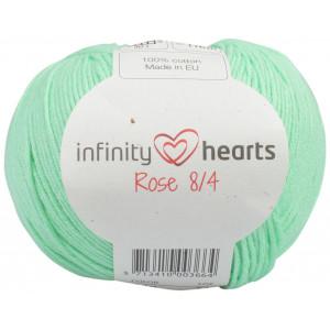 Infinity Hearts Rose 8/4 Yarn Unicolor 140 Mint Green
