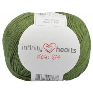Infinity Hearts Rose 8/4 Yarn Unicolor 163 Dark Green