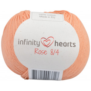 Infinity Hearts Rose 8/4 Yarn Unicolor 195 Peach