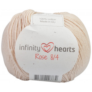 Infinity Hearts Rose 8/4 Yarn Unicolor 212 Sand