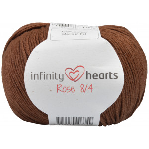 Infinity Hearts Rose 8/4 Yarn Unicolor 228 Dark Brown