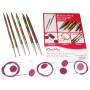 KnitPro Symfonie Interchangeable Circular Needles Set Starter size 3-4mm