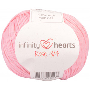 Infinity Hearts Rose 8/4 Yarn Unicolor 05 Pink
