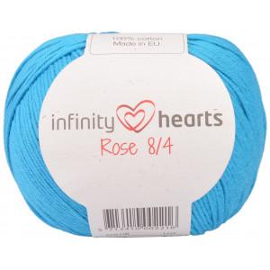 Infinity Hearts Rose 8/4 Yarn Unicolor 125 Turquoise