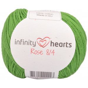 Infinity Hearts Rose 8/4 Yarn Unicolor 156 Green