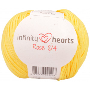 Infinity Hearts Rose 8/4 Yarn Unicolor 179 Yellow