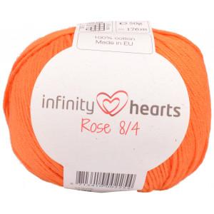 Infinity Hearts Rose 8/4 Yarn Unicolor 193 Orange