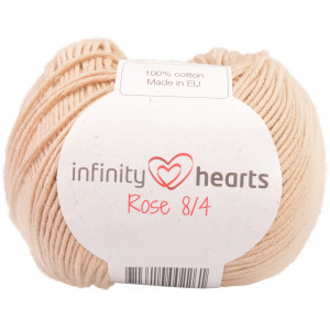Infinity Hearts Rose 8/4 Yarn Unicolor 213 Beige