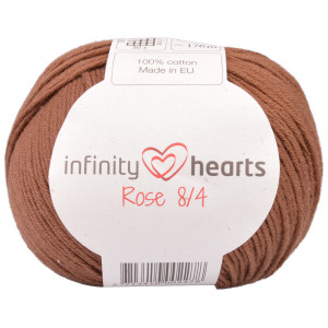 Infinity Hearts Rose 8/4 Yarn Unicolor 219 Brown