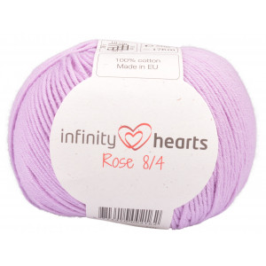 Infinity Hearts Rose 8/4 Yarn Unicolor 52 Light Purple