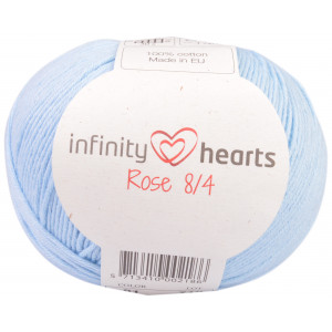 Infinity Hearts Rose 8/4 Yarn Unicolor 81 Light Blue