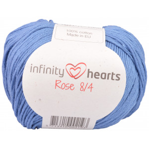 Infinity Hearts Rose 8/4 Yarn Unicolor 91 Jeans Blue