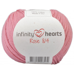 Infinity Hearts Rose 8/4 Yarn Unicolor 29 Old Pink