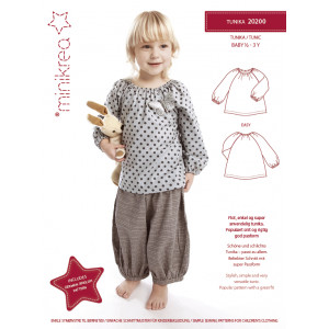 a89071a9342a7 MiniKrea Sewing Pattern 30300 Baggy Trousers - Paper Pattern size 4 ...